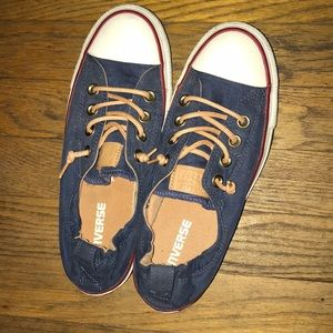 77055154e05698 Converse Shoes - Blue Chuck Taylor Shoreline Slip On Sneakers